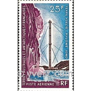 n.o 13 -  Sello Tierras Australes y Antárticas Francesas Correo aéreo