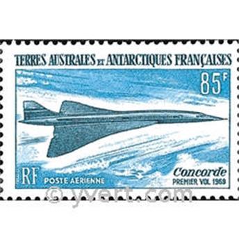 n.o 19 -  Sello Tierras Australes y Antárticas Francesas Correo aéreo