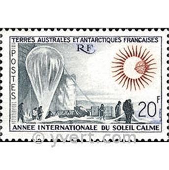 n.o 20 -  Sello Tierras Australes y AntArticas Francesas Correos
