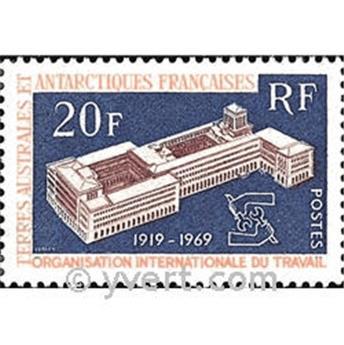 n° 32 -  Selo TAAF Correios