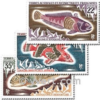 n.o 43 / 45 -  Sello Tierras Australes y Antárticas Francesas Correos