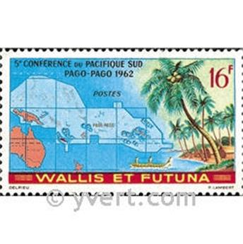 n.o 161 -  Sello Wallis y Futuna Correos