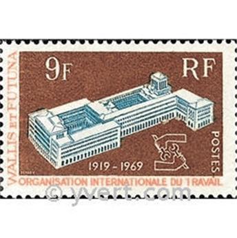 n° 175 -  Selo Wallis e Futuna Correios