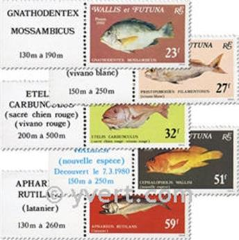 nr. 259/263f (sheet) -  Stamp Wallis et Futuna Mail