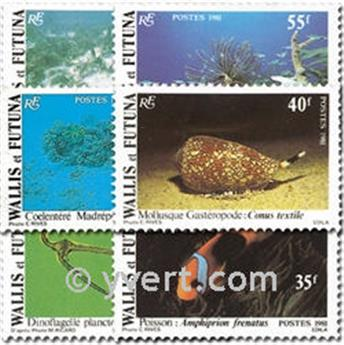 nr. 267/272 -  Stamp Wallis et Futuna Mail