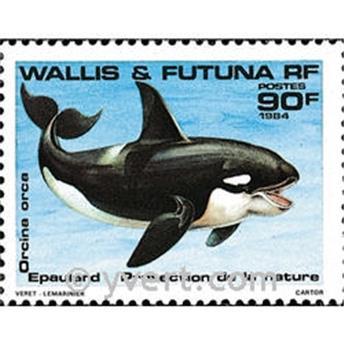 n° 320 -  Timbre Wallis et Futuna Poste