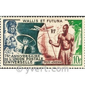 n° 11  -  Selo Wallis e Futuna Correio aéreo