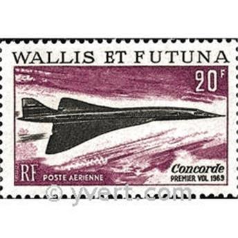n.o 32 -  Sello Wallis y Futuna Correo aéreo