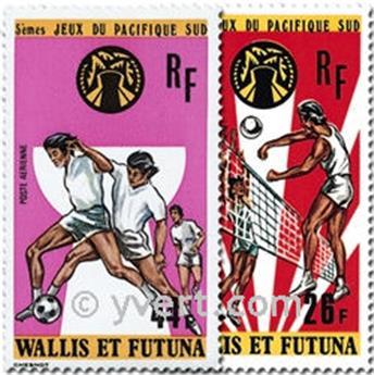 n° 63/66 -  Timbre Wallis et Futuna Poste aérienne