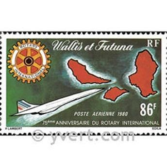 n° 101 -  Timbre Wallis et Futuna Poste aérienne