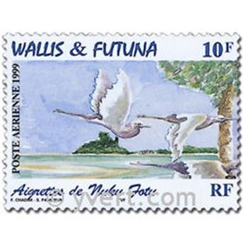 n° 214/217 -  Timbre Wallis et Futuna Poste aérienne