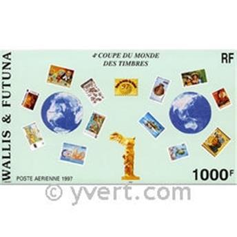 n° 7 -  Selo Wallis e Futuna Blocos e folhinhas