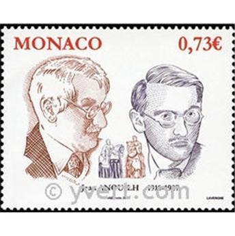 n° 2713 -  Selo Mónaco Correios