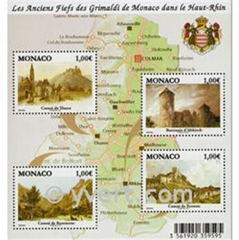 nr. 2731/2734 (BF 98) -  Stamp Monaco Mail
