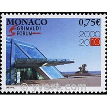 n° 2744 -  Selo Mónaco Correios
