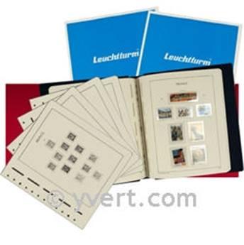 FRANCE SF :  2000-2004 (avec pochettes) LEUCHTTURM