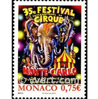n° 2756 -  Timbre Monaco Poste