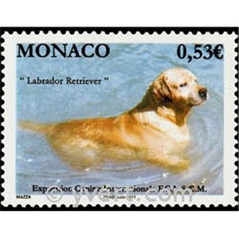 n° 2765 -  Selo Mónaco Correios