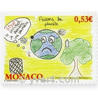 n° 2784 -  Selo Mónaco Correios