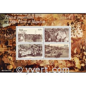 n° 15 -  Selo São Pedro e Miquelão Blocos e folhinhas