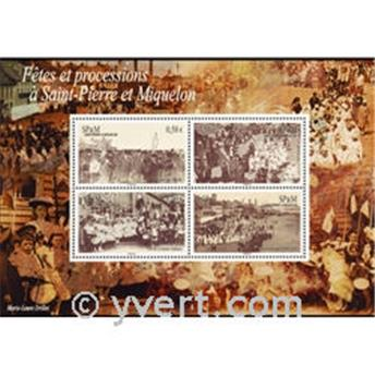 nr. 15 -  Stamp Saint-Pierre et Miquelon Souvenir sheets
