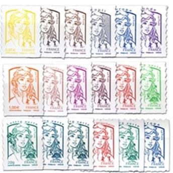 nr. 847/864 -  Stamp France Self-adhesive
