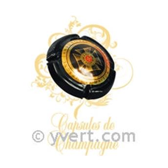 LABEL CHAMPAGNE CAP IN COLOUR