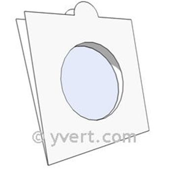 COIN HOLDERS: 32.5 mm - TO FASTEN