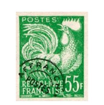 n°118** - Sello Francia Precancelados