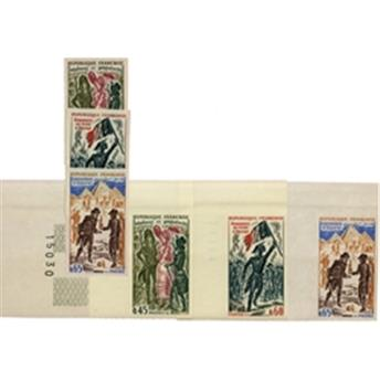 n°1729/1731** - Stamp France  Mail